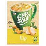 Cup a soup kip.